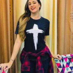 Camisa Cruz (feminina)