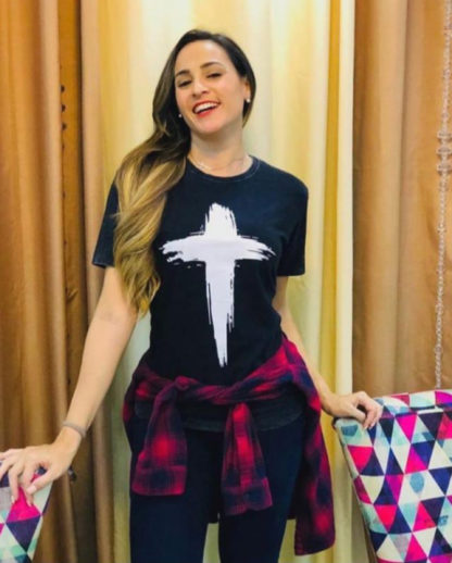 Camisa Cruz Feminina
