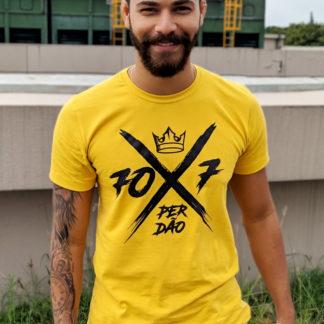 Camisa 70x7 Mostarda