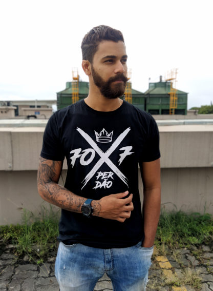 Camisa 70x7 Preta