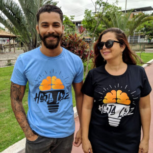Camisa Haja Luz! (feminina)